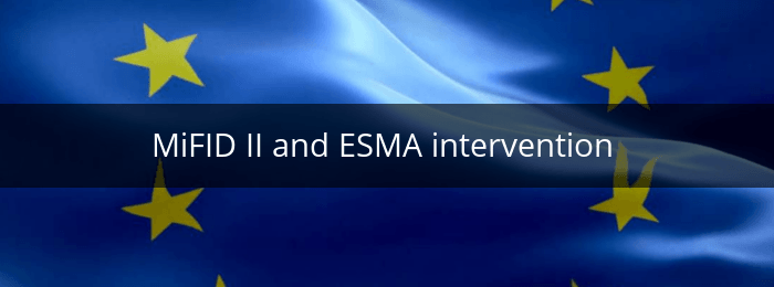 mifid II and esma intervention
