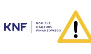 KNF warnings - KNF (Poland): Warning against Maxitrade