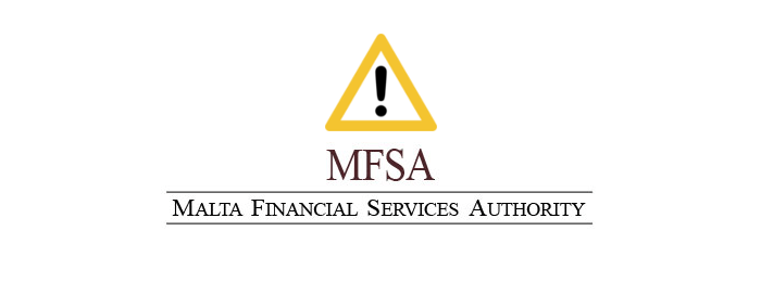 mfsa ostrzezenie - MFSA (Malta): Warning against Bitcoin Revolution
