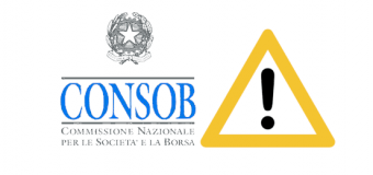 consob (italy) warning